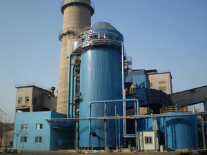 热力公司碳钢脱硫塔