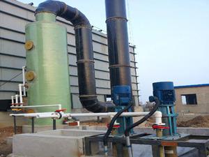 小型燃煤锅炉专用玻璃钢脱硫塔