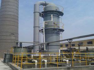 25T燃煤供热锅炉脱硫系统