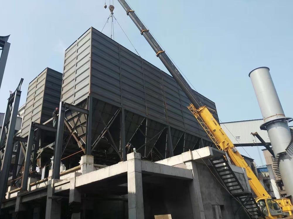 钢厂8000平米布袋除尘器
