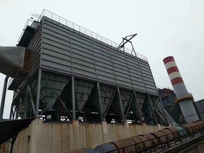 钢厂7500平米除尘器安装完毕